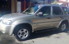 Sell Silver 2004 Ford Escape in Manila