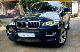 Blue Bmw X6 2015 for sale in Quezon City