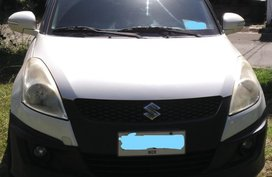 Sell White 2015 Suzuki Swift in Manila