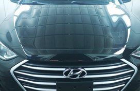 Black Hyundai Elantra 2016 for sale in Manila