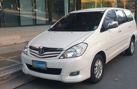 Sell White 2012 Toyota Innova in Pasig
