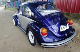 Blue Volkswagen Beetle 1979 for sale in Manila