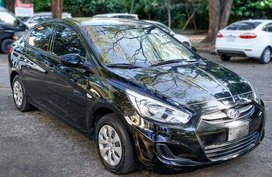 Sell Black 2017 Hyundai Accent in Manila