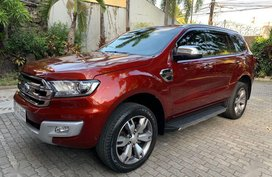 Red Ford Everest 2018 for sale in Marikina