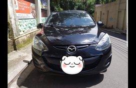 Selling Black Mazda 2 2015 Sedan at 55076 in Quezon City