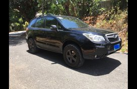Black Subaru Forester 2014 at 125000 for sale
