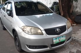Silver Toyota Vios 2006 for sale in Manual