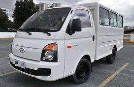 Low Mileage Factory Plastic Intact Almost New 2015 Hyundai H100 MT