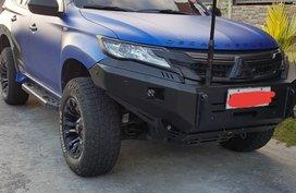 Blue Mitsubishi Montero sport 2017 for sale in Automatic