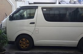 White Toyota Hiace 2016 for sale in San Antonio