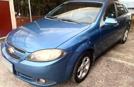 Blue Chevrolet Optra 2008 for sale in Manila