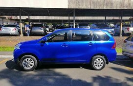 Sell Blue 2016 Toyota Avanza in Quezon City