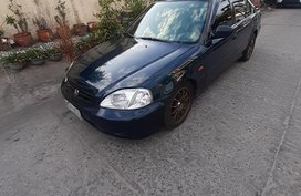 Black Honda Civic 1999 for sale in Manual