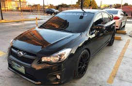 Black Subaru Impreza 2013 for sale in Manila