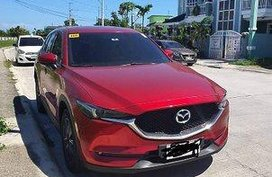 Red Mazda Cx-5 2018 at 25000 km for sale