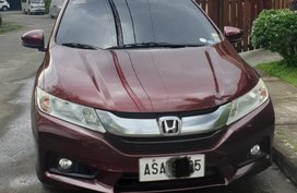 Purple Honda City 2015 for sale in Manila