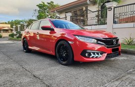 Red Honda Civic 2015 for sale in Quezon City