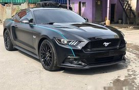 Black Ford Mustang 2017 for sale in Automatic