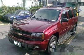 Selling Red Chevrolet Trailblazer 2005 in Manila