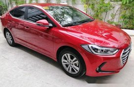 Sell Red 2018 Hyundai Elantra in Manila