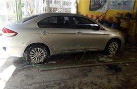 Selling Silver Suzuki Ciaz 2015 in Quezon City