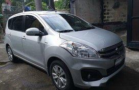 Selling Silver Suzuki Ertiga 2018 in Quezon City