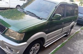 Green Mitsubishi Adventure 2002 for sale in Quezon City