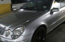 Silver Mercedes-Benz E-Class 2003 for sale in Makati City