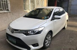 Pearl White Toyota Vios 2014 Automatic for sale