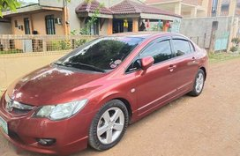 Selling Red Honda Civic 2009 in Manila