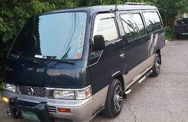 Black Nissan Urvan 2012 for sale in Manual