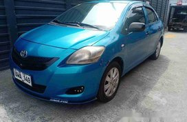 Selling Blue Toyota Vios 2012 Manual Gasoline
