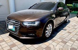 Brown Audi A4 2013 Automatic for sale