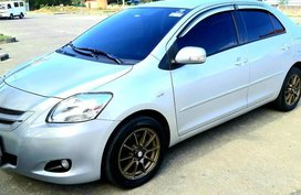 Silver Toyota Vios 2009 for sale in Manual