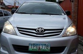 Silver Toyota Innova 2011 for sale in Manila