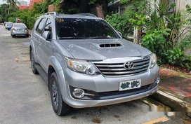 Silver Toyota Fortuner 2015 Automatic for sale