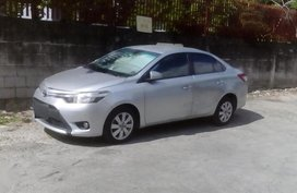 Silver Toyota Vios 2008 for sale in Manual