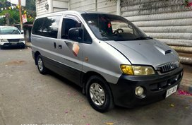 Silver Hyundai Starex 2001 for sale in Automatic