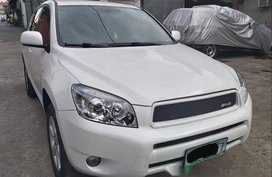 White Toyota Rav4 2008 for sale in Quezon City