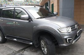 Grey Mitsubishi Montero Sport 2015 Manual for sale