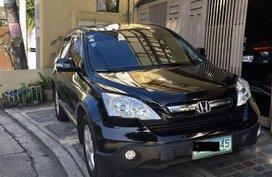 Black Honda Cr-V 2008 for sale in Automatic