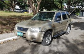 Brown Ford Escape 2004 for sale in Muntinlupa