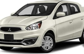 White Mitsubishi Mirage 2019 for sale in Manual