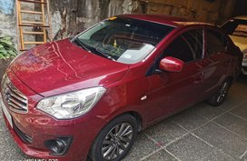 Red Mitsubishi Mirage g4 2019 for sale in Quezon City