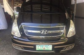 Selling Black Hyundai Grand starex 2009 in Manila