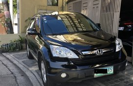 2008 Honda CRV 4x2 A/T 2.0 li gas, nighthawk black, comprehensive insurance, lady driven, very nice