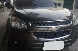 Selling Brown Chevrolet Trailblazer 2014 in Quezon City