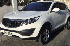 White Kia Sportage 2016 for sale in Cebu city
