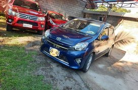 Sell Blue 2016 Toyota Wigo in Manila