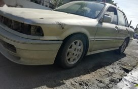 Golden Mitsubishi Galant 1992 for sale in Las Piñas